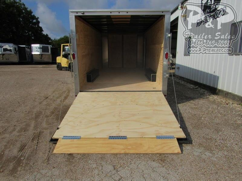 2020 Carry-On 8.5 X 20' CGRBN 20 ft Enclosed Cargo Trailer