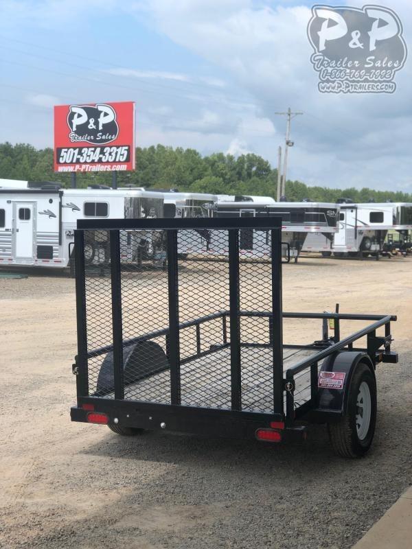 2018 Big Tex 30SA-08BK4RG 5x8 w/ Ramp Gate