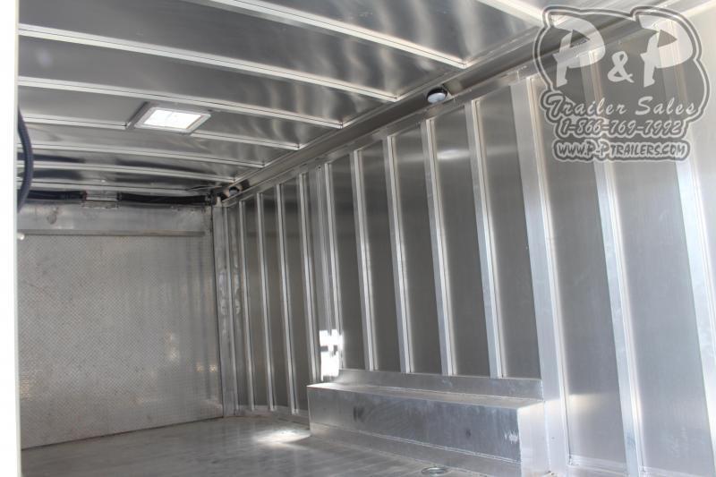 2020 P and P 24' Car Hauler 24 ft Enclosed Cargo Trailer