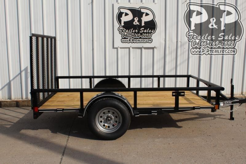 2020 P and P PPSA10X72LDRGPT 10 ft Utility Trailer