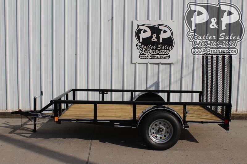 2020 P and P PPSA10X72LDRGPT 10 ft Utility Trailer