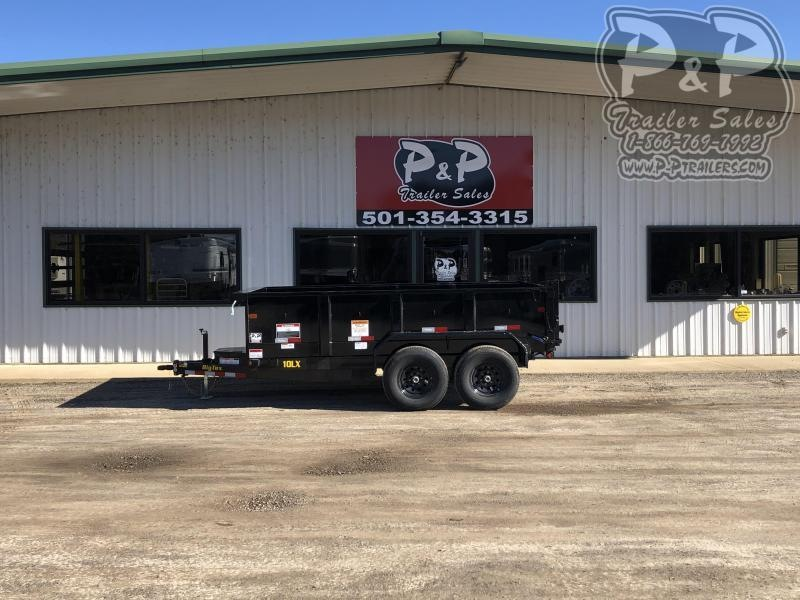 2020 Big Tex Trailers 10LX 12BK7SIR 12 ft Dump Trailer