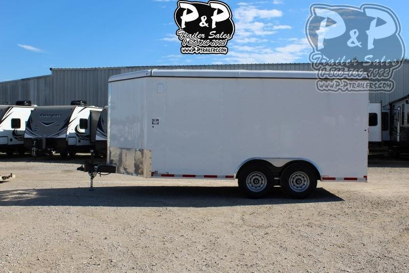2019 Carry-On 8.5x16CGR 16 ft Enclosed Cargo Trailer