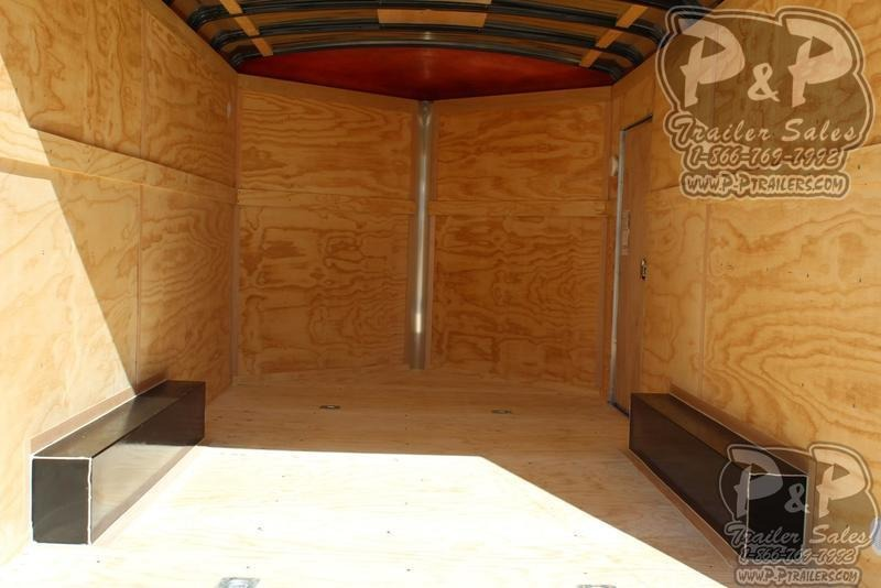 2020 Carry-On 8.5x16CGR 16 ft Enclosed Cargo Trailer