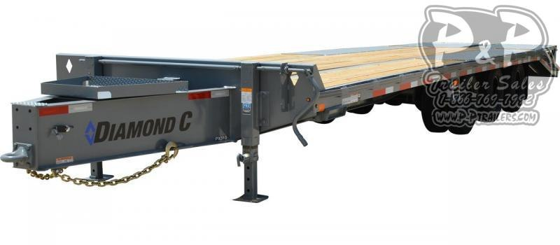 2020 Diamond C Trailers PX312 Pintle Hitch Equipment Trailer