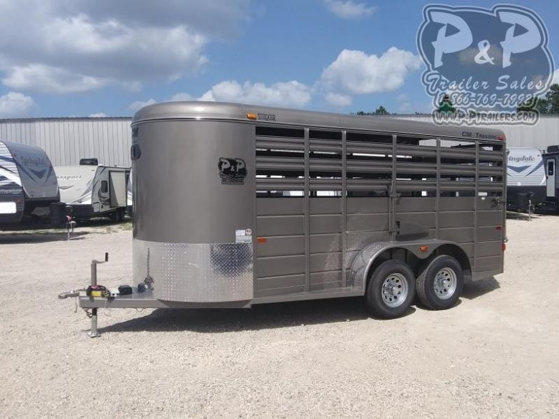 2020 CM CMS6630-1600235 16 ft Livestock Trailer