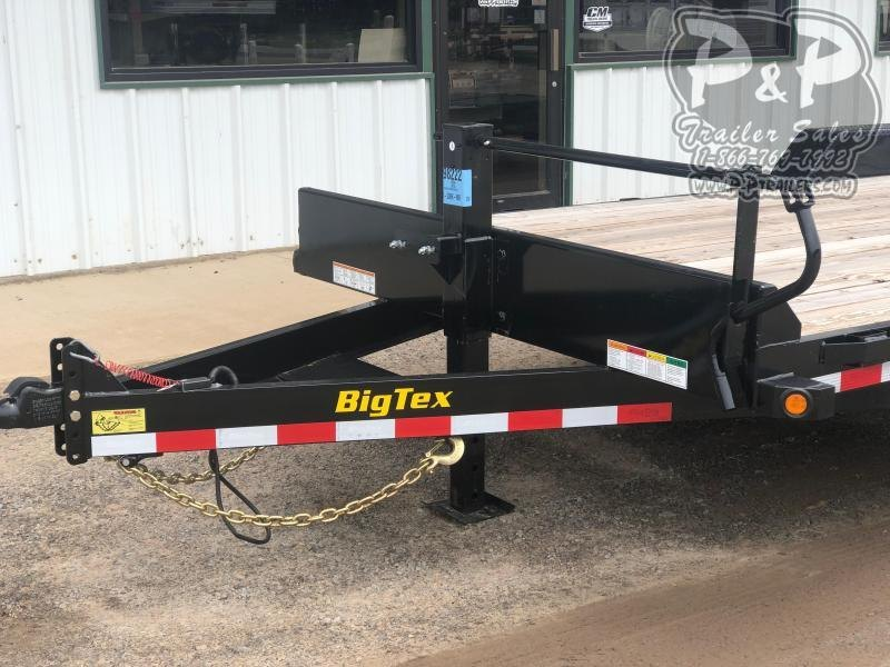 2020 Big Tex Trailers 14ET-20BK-MR 20' Flatbed Trailer