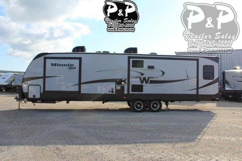2019 Winnebago Minnie Plus 30RLSS 36.92 ft Travel Trailer RV