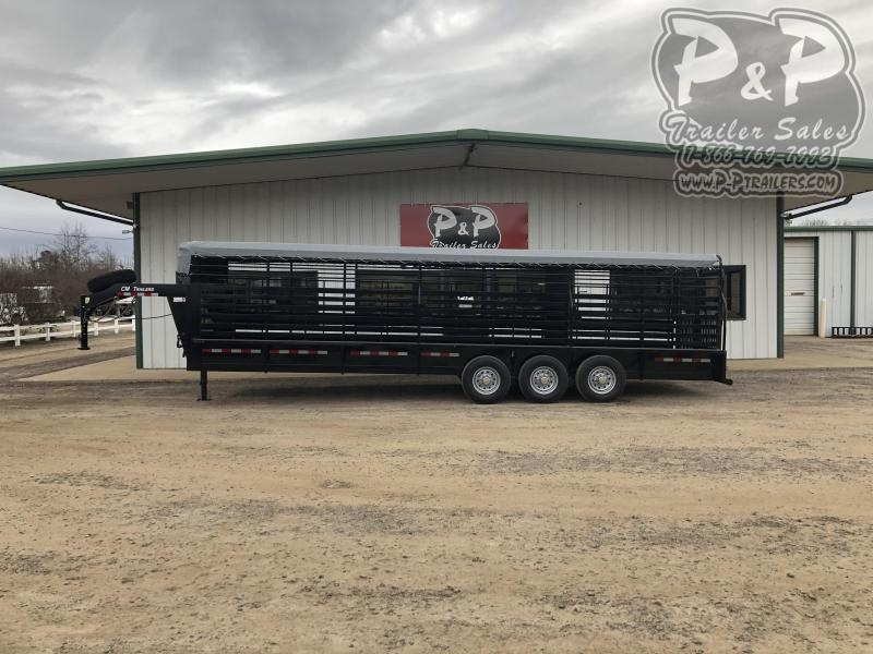2020 CM CMS9440-2800370 28 ft Livestock Trailer