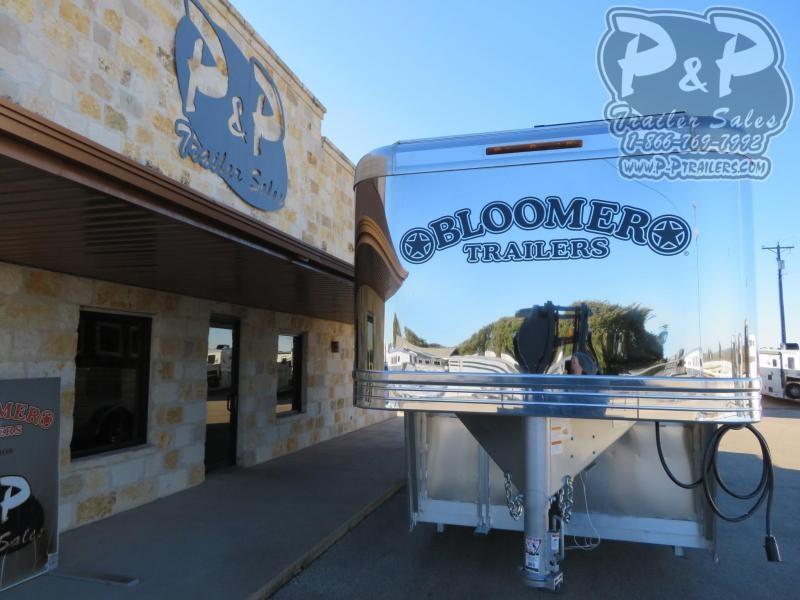 2020 Bloomer 4 Horse Trainer 4 Horse Slant Load Trailer w/ Ramps