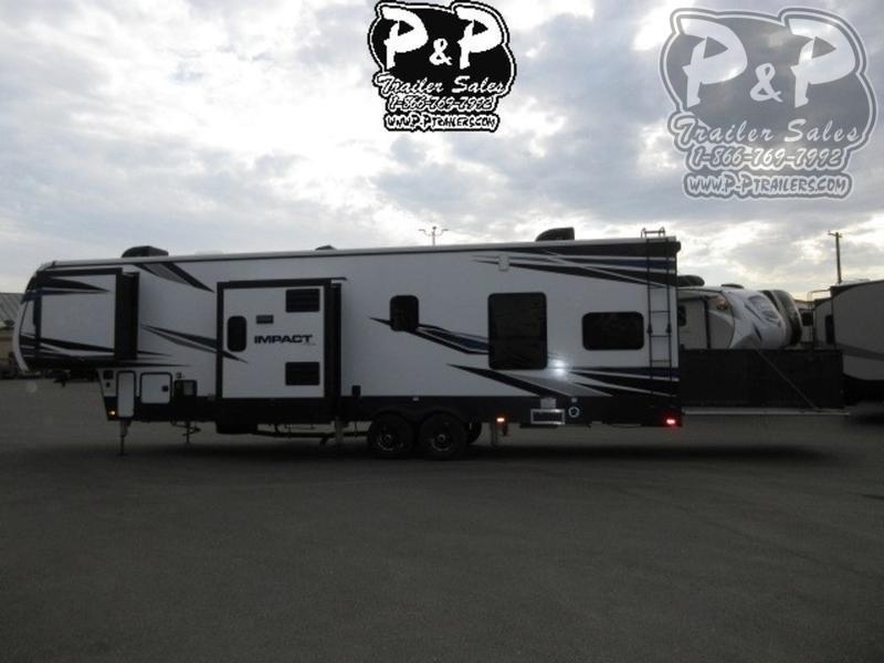 2018 Keystone Impact 367 39 ft Toy Hauler RV