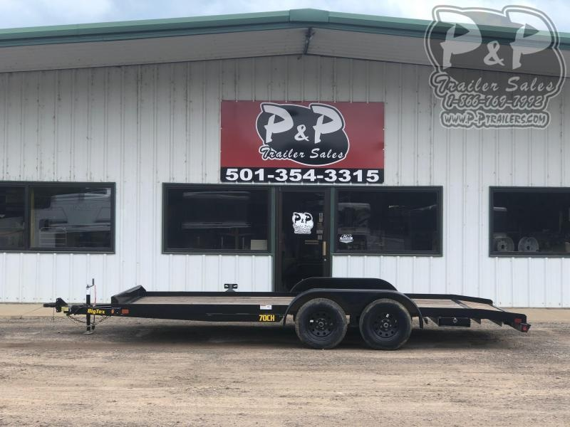 2019 Big Tex Trailers 70CH-18BKDT