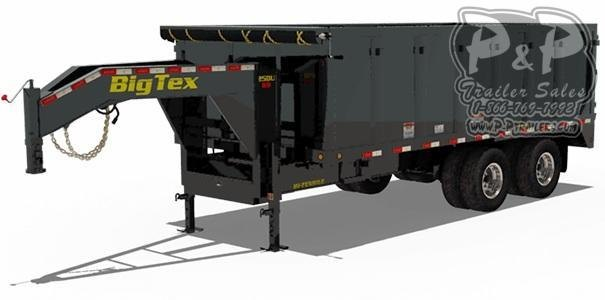 2020 Big Tex Trailers 25DU-18 Dump Trailer