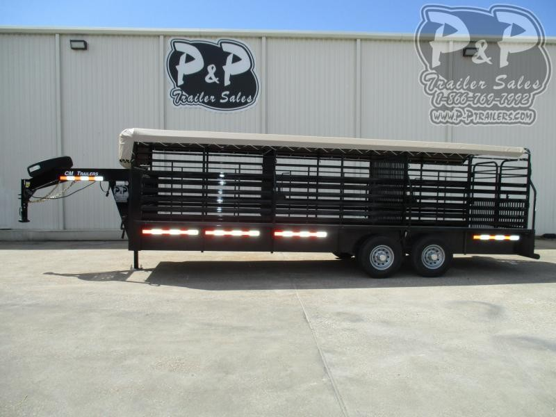 2019 CM 2019 CM Brush Buster BT Livestock Trailer