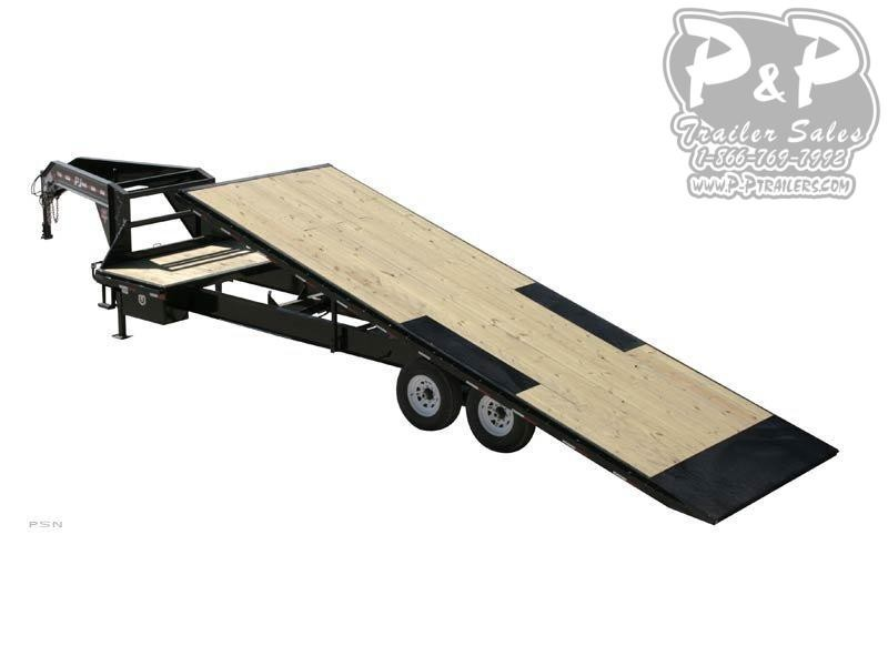 2020 PJ Trailers HD Deckover Tilt (T9) Equipment Trailer