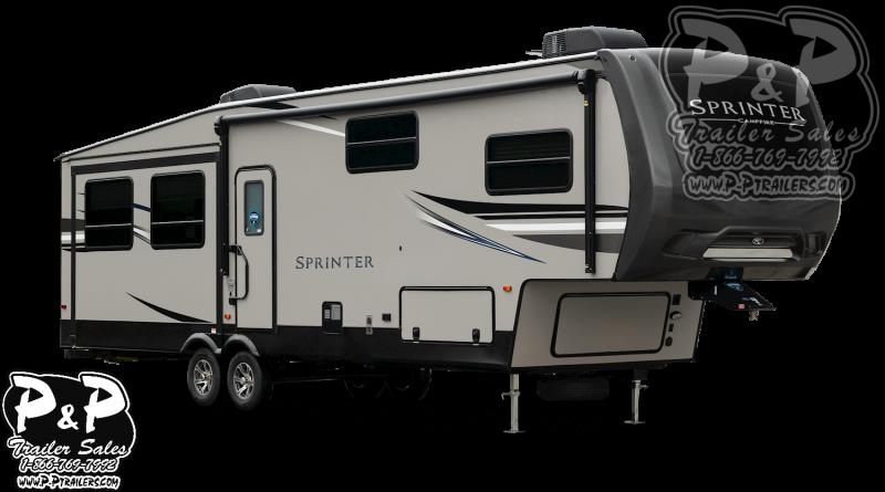 2020 Keystone Sprinter Campfire 27FWML 31.83 ft Fifth Wheel Campers RV