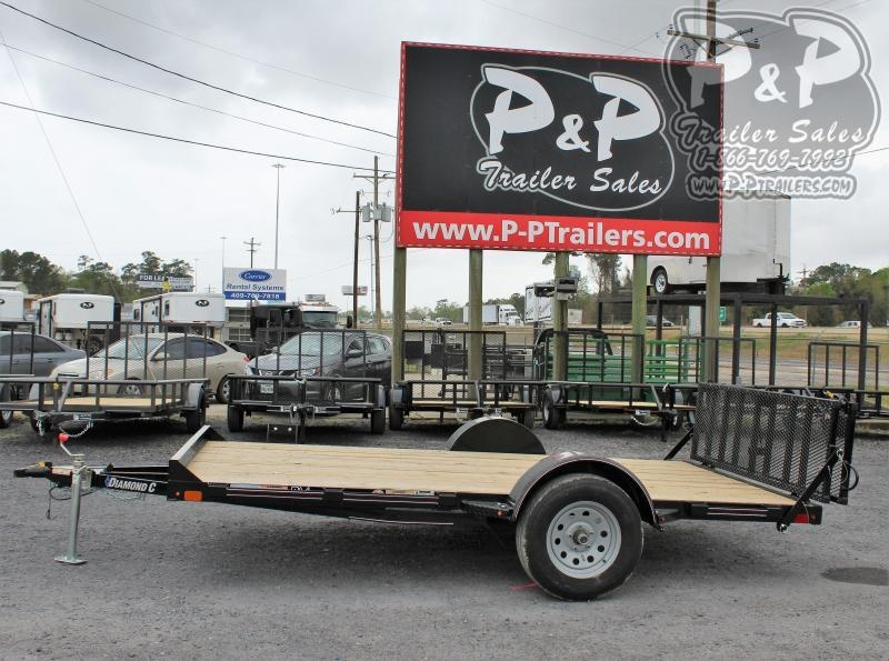 2020 Diamond C Trailers UVT135L12x77 12 ft Utility Trailer