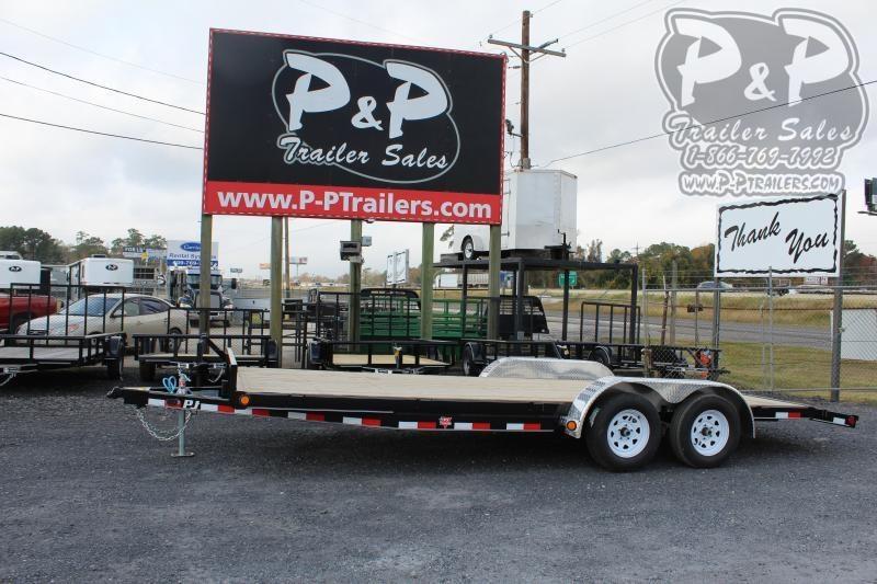 2020 PJ Trailers C522032ES2KT 20 ft Flatbed Trailer