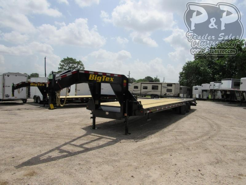 2020 Big Tex Trailers 22GN-30BK5MR Flatbed Trailer
