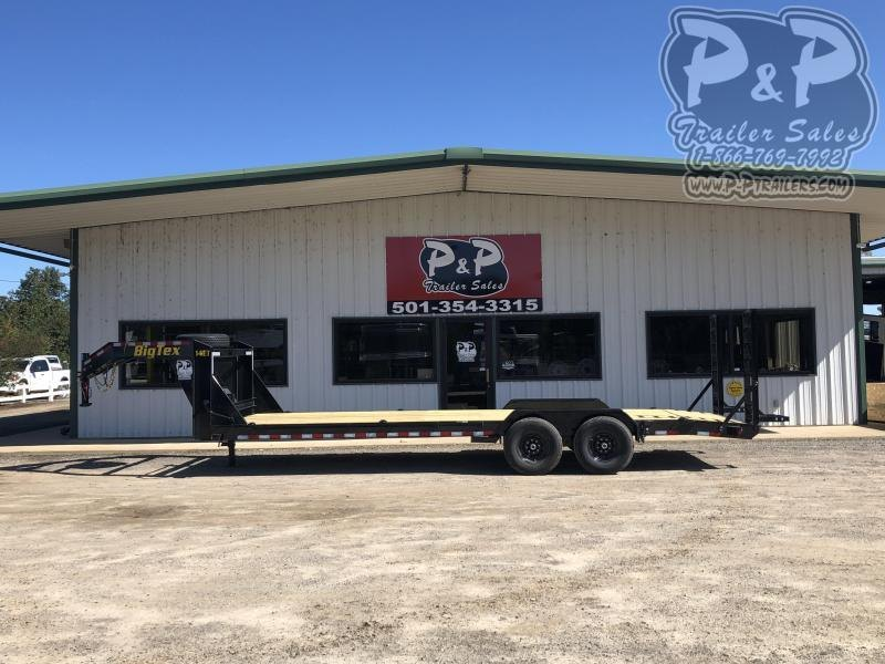2020 Big Tex Trailers 14ET-24GN 24 ft Equipment Trailer