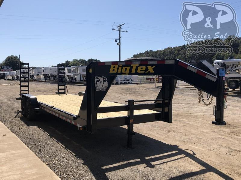 2020 Big Tex Trailers 14ET-24GN 24 ft Equipment Trailer