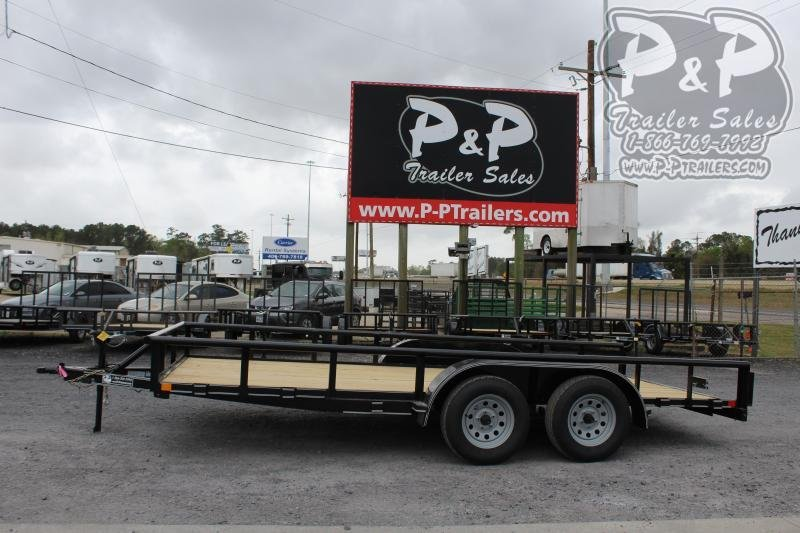 2020 P and P PPTA16X83GDSRPT 16 ft Utility Trailer