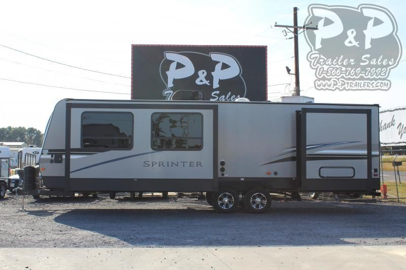 2020 Keystone Sprinter Campfire 29FK 32.83 ft Travel Trailer RV