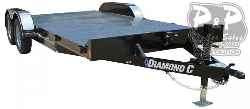 2020 Diamond C Trailers GSF Car / Racing Trailer