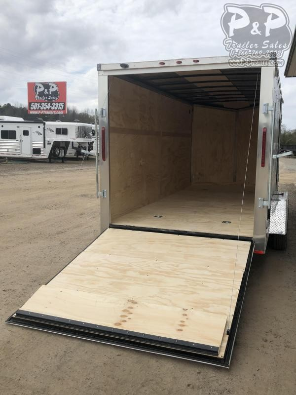2020 RC Trailers 7X16TA2FTW 16 ft Enclosed Cargo Trailer