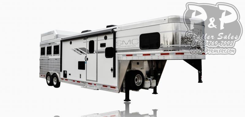 2020 SMC Horse Trailers SL8X11SFK LARAMIE 3 Horse Slant Load Trailer 11 FT LQ With Slides