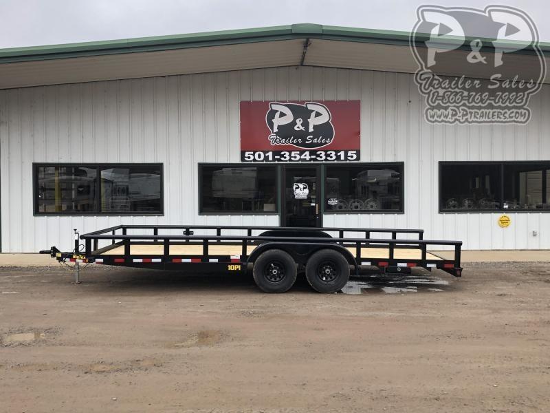 2020 Big Tex Trailers 10PI-20 20 ft Utility Trailer