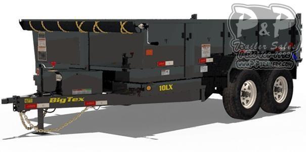 2020 Big Tex Trailers 10LX-10 Dump Trailer