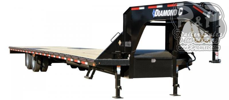 2020 Diamond C Trailers FMAX210 Gooseneck Equipment Trailer