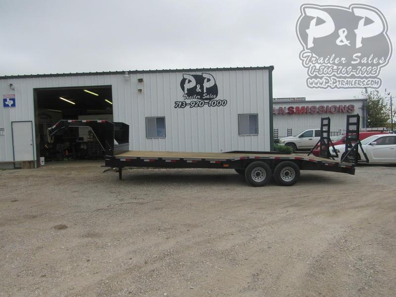 "2019 P and P 102 X 24 EQGN-TA7 24"" Flatbed Trailer"
