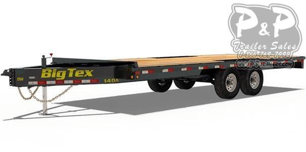 2019 Big Tex Trailers 14OA-20 Equipment Trailer