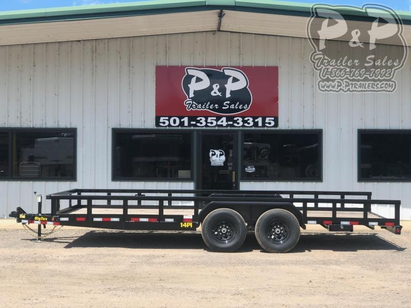 2019 Big Tex Trailers 14PI-20BK
