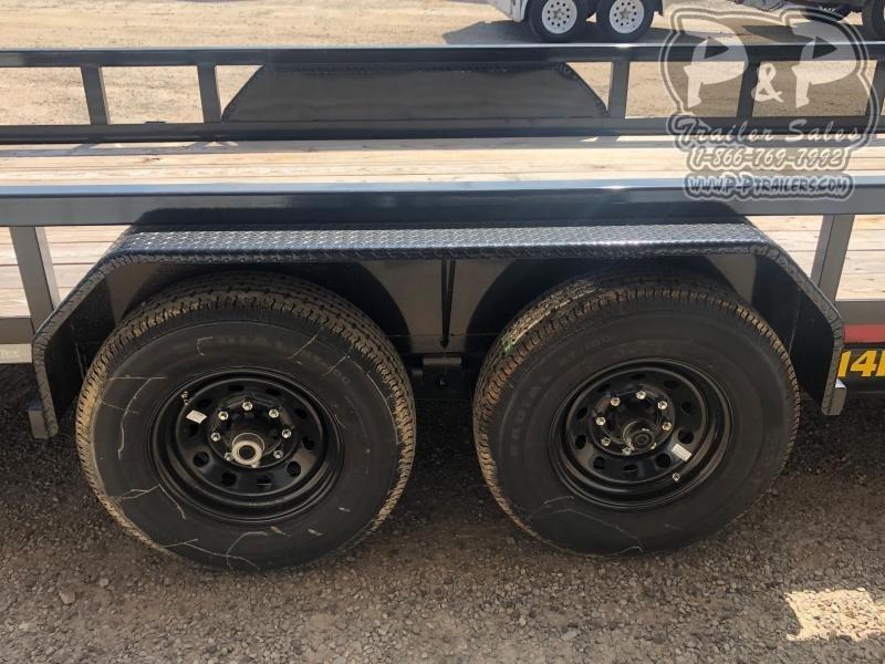 2020 Big Tex Trailers 14PI-20BK Utility Trailer