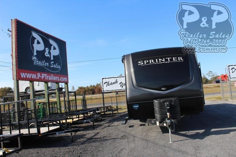 "2020 Keystone Sprinter Campfire 29DB 33' 11"" ft Travel Trailer RV"