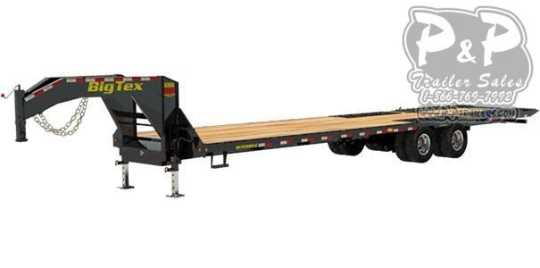 2020 Big Tex Trailers 22GN-40-HDTS Flatbed Trailer