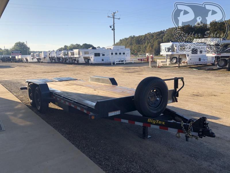 2019 Big Tex Trailers 14ET-20BK 20 ft Equipment Trailer