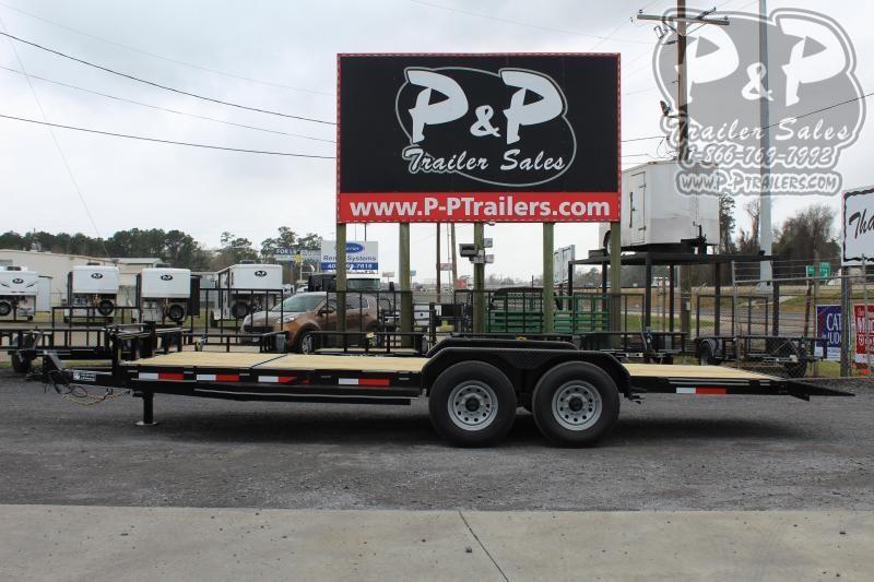 2020 Stagecoach PPTA83x22HDTILT 22 ft Flatbed Trailer