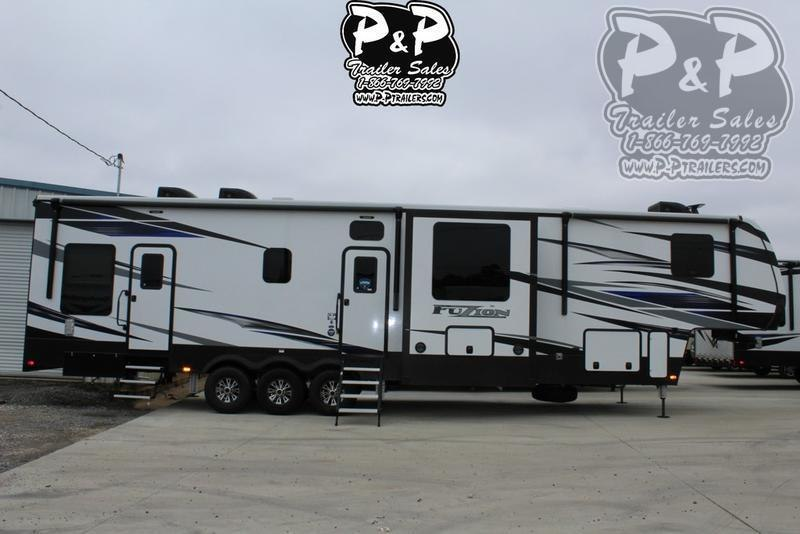 2020 Keystone Fuzion 429 44 ft Toy Hauler RV