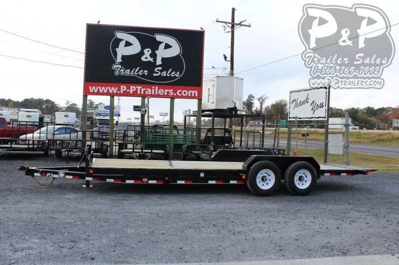 2020 PJ Trailers T6J2272BTTK 22 ft Flatbed Trailer