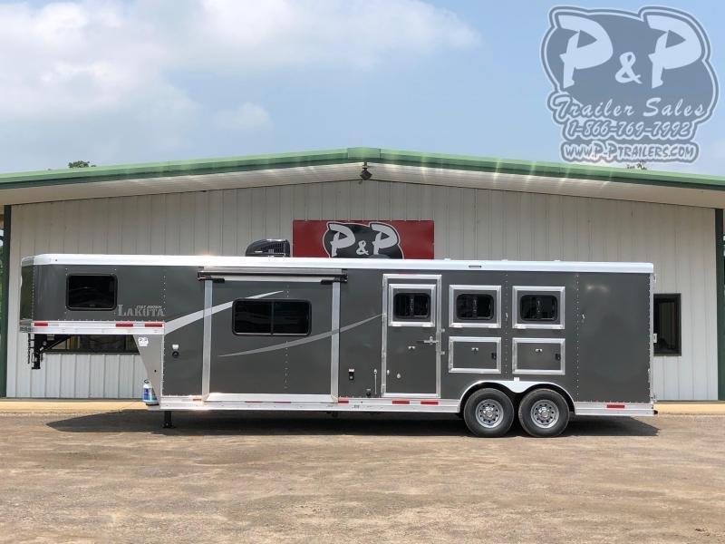 2020 Lakota Colt AC8311 3 Horse Slant Load Trailer 11 FT LQ With Slides