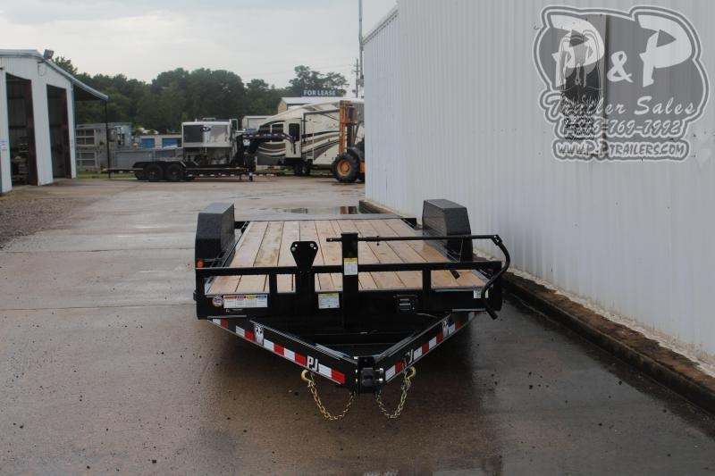 2020 PJ Trailers PJEQ22x83HDTILT 22 ft Equipment Trailer