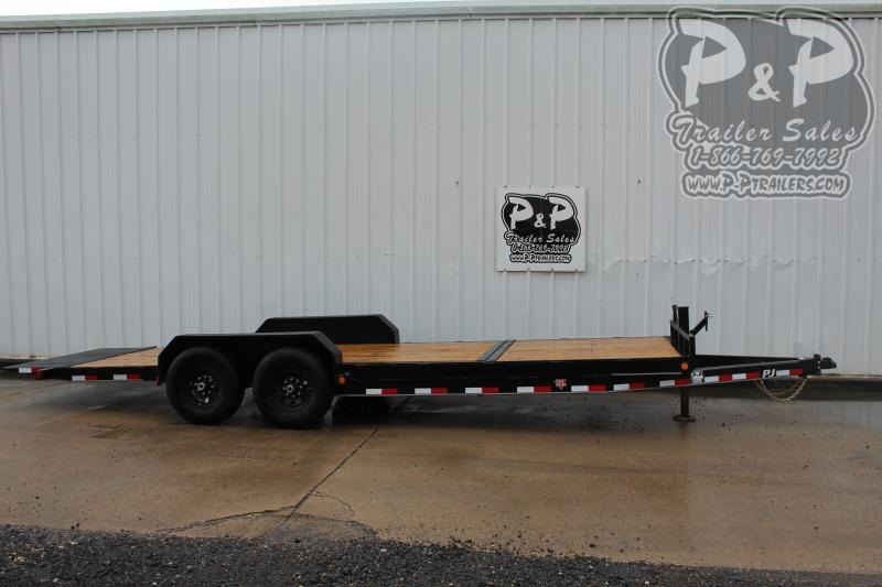 2020 PJ Trailers PJEQ22x83HDTILT 22 ft Equipment Trailer
