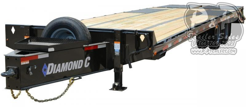 2020 Diamond C Trailers PX210 Pintle Hitch Equipment Trailer