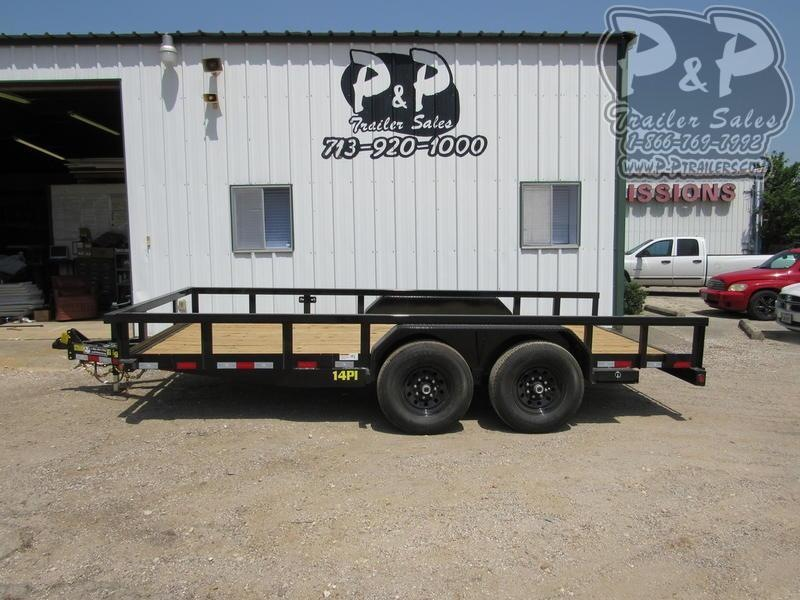 2019 Big Tex Trailers 7' x 16' HD TAPT