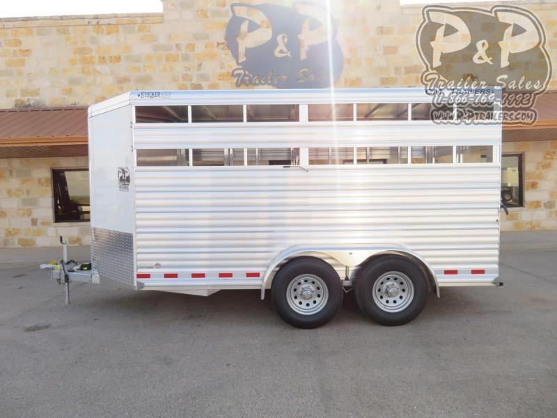 2020 CM CMS0440-16 16 ft Livestock Trailer