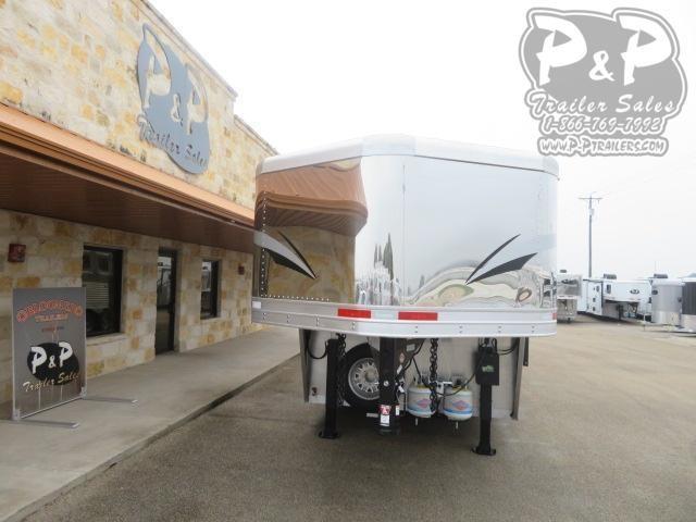 2020 Lakota Charger C8415BBRSL w/ Bunks 4 Horse Slant Load Trailer 15 FT LQ With Slides w/ Ramps